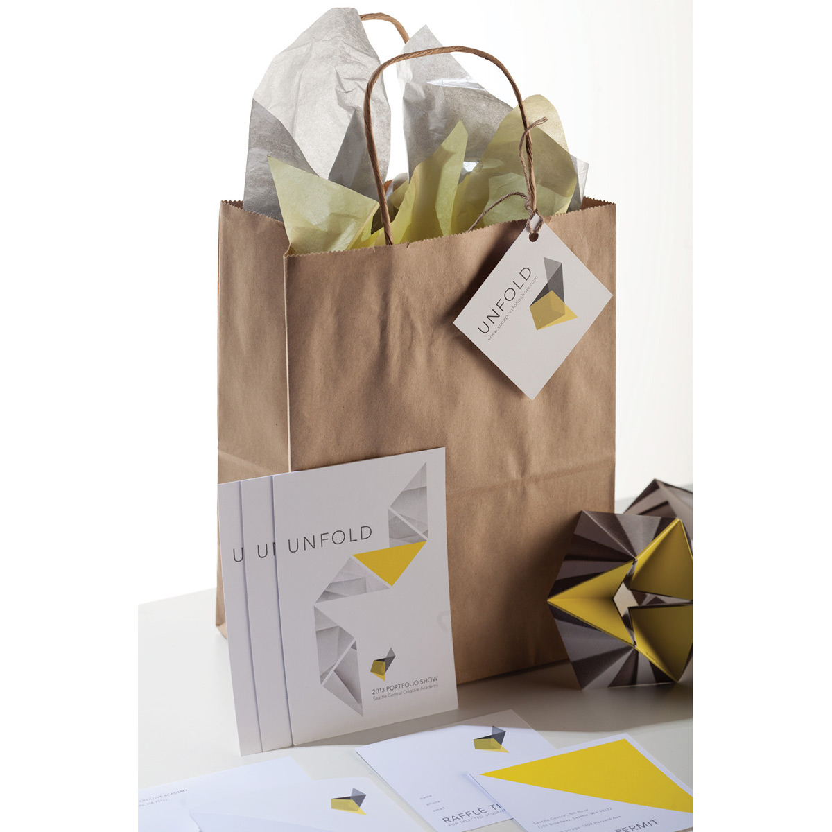 Unfold goodie bags