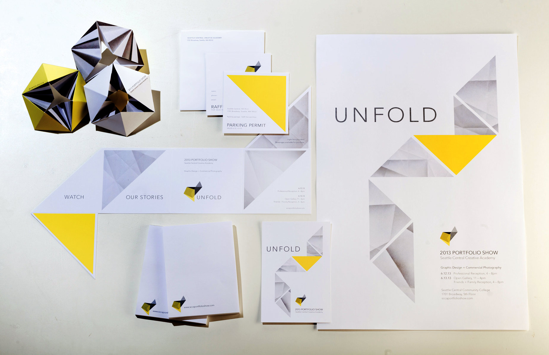 Unfold collaterol package